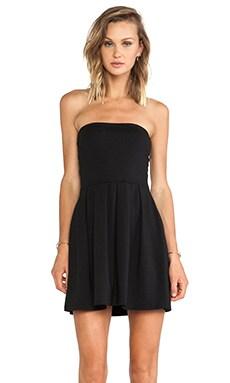 Susana Monaco Harlow Strapless Dress in Black