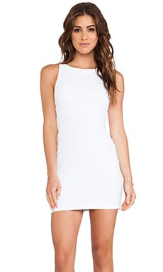 Susana Monaco Open Back Tank Dress in Sugar