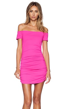Jona Dress in Pink Glo
