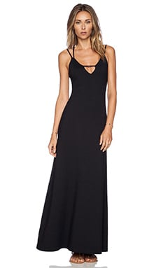 Susana Monaco Leona Maxi Dress in Black