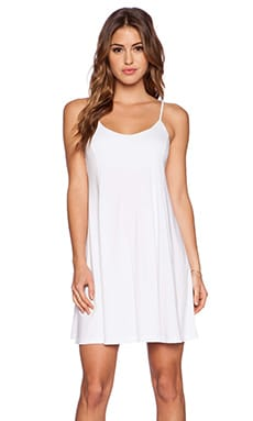 Susana Monaco Float V Neck Dress in Sugar