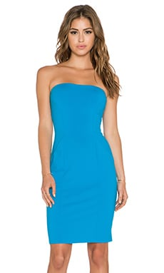 Susana Monaco Cameron Strapless Dress in Pacific