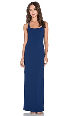 Susana Monaco Racerback Maxi Dress in Inkwell