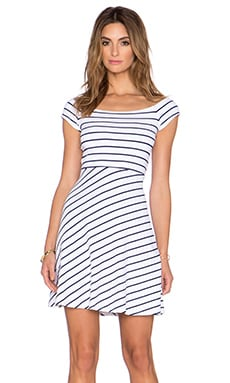 Susana Monaco Vanessa Striped Dress in Inkwell