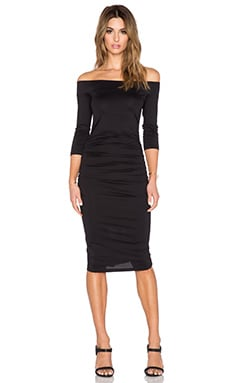 Susana Monaco Lydia Dress in Black