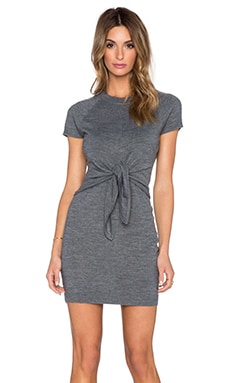 Susana Monaco Crew T Dress in Sidewalk
