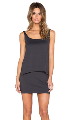 Susana Monaco Alicia Mini Dress in Onyx