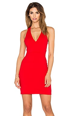Gia Dress in Perfect Red
