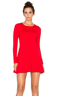 Susana Monaco Pixie Dress in Perfect Red