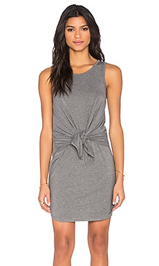 Susana Monaco Tie Front Dress in Cloud Melange