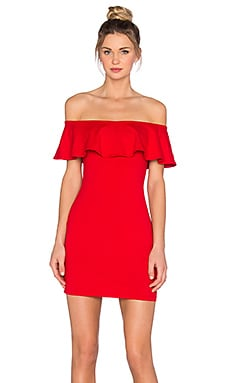 Susana Monaco Hannah Dress in Perfect Red