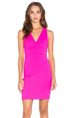 Gia Dress in Pink Glo