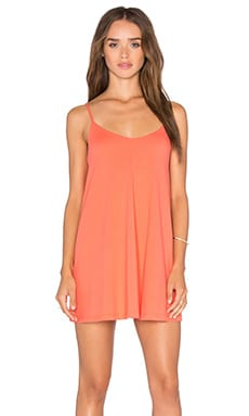 Very V Drape Mini Dress in Blaze