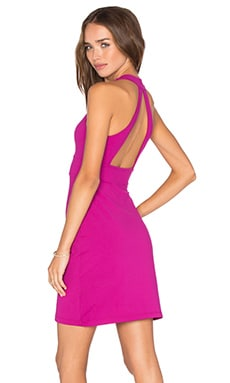 Gia Dress in Bombshell Pink