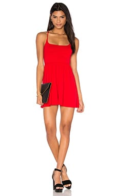Raquel Dress in Perfect Red