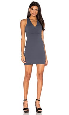 Gia Dress in Charcoal