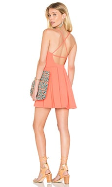 Susana Monaco Gigi Dress in Pink Grapefruit