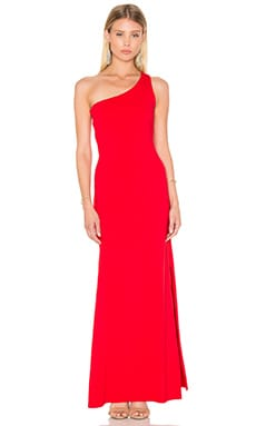 Susana Monaco Whitney Maxi Dress in Perfect Red