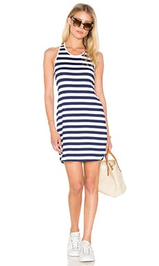 Susana Monaco Racer Dress in Inkwell & Sugar