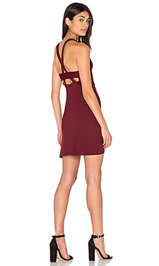Ella Dress en Oxblood