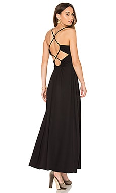 Phaedra Maxi Dress in Black