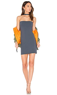 x REVOLVE Elena Dress in Charcoal