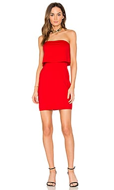 Meredith Dress in Perfect Red