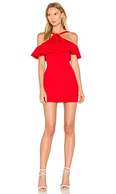 Findlay Dress in Perfect Red
