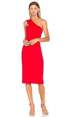 Tina Dress in Perfect Red