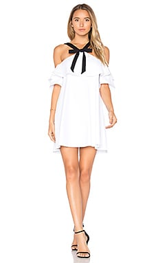 Rowan Dress in White & Black
