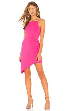 Купить Платье asymmetrical - Susana Monaco, Коктейльное, США, Розовый