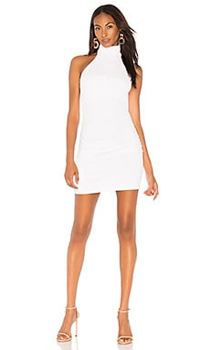 "Gathered High Neck Halter Dress 16"" Susana Monaco $191"