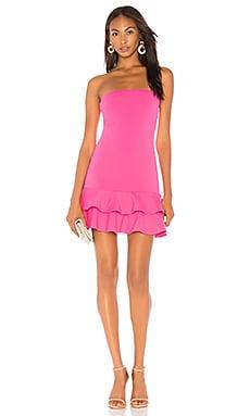Купить Платье - Susana Monaco, Без бретель, США, Розовый