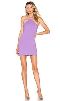 Купить Мини платье halter - Susana Monaco бледно-лилового цвета