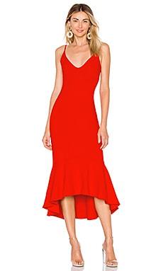 Ruffle Hem Dress Susana Monaco $119
