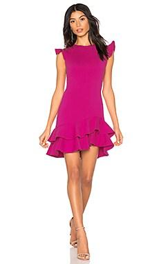 Sleeveless Ruffle Hem Dress Susana Monaco $125