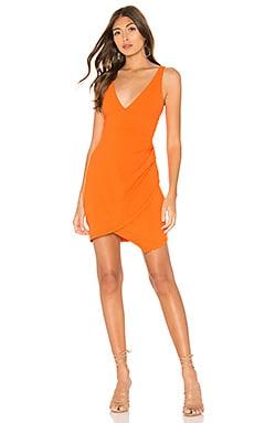 Plunge Neckline Side Pleat Dress Susana Monaco $74 (FINAL SALE)