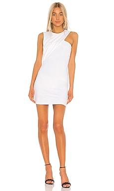 Sleeveless Gathered Crossover Dress Susana Monaco $80