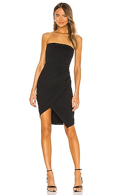 Strapless Side Pleat Dress Susana Monaco $188