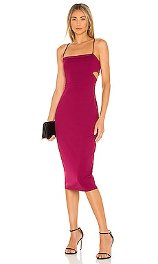 Cutout Strap Solid Dress Susana Monaco $168