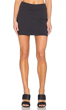 Susana Monaco Mini Skirt in Onyx