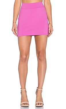 Susana Monaco Slim Skirt in Bouganvillea