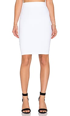 Susana Monaco Pencil Skirt in White