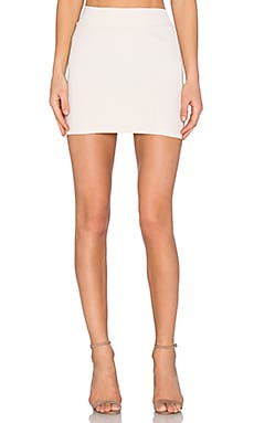 Slim Skirt in Blanched Almond