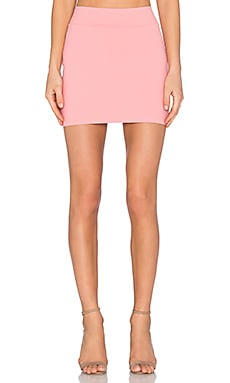 Susana Monaco Slim Skirt in Sorbet