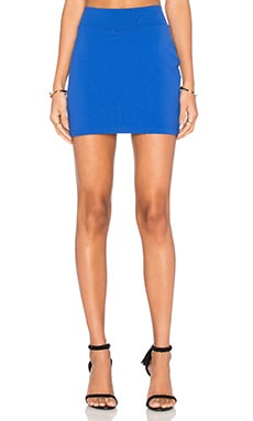 Slim Skirt in Lapis