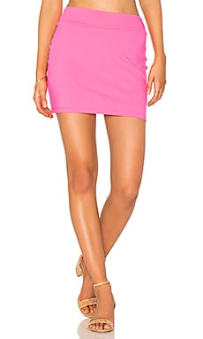 Slim Skirt in Pop Pink
