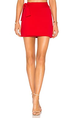 "16"" Tie Mini Skirt Susana Monaco $84"