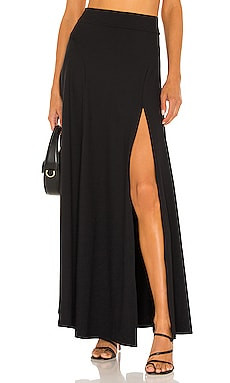 High Waisted Slit Maxi Skirt Susana Monaco $168