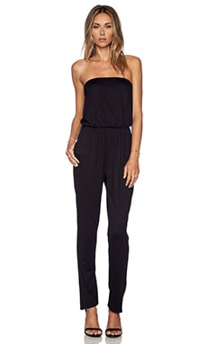 Susana Monaco Tube Jumpsuit in Black